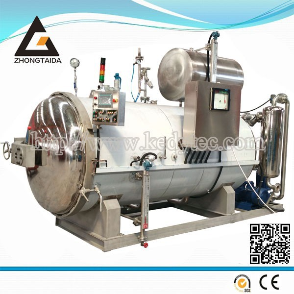 Hot Water Spray Autoclave Sterilizer