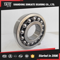 shandong china made XKTE brand 1312 self-aligning ball bearing with high quality