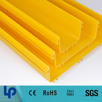 plastic PVC fiber cable trunking system price made in china (rohs tuv sgs cable certificated)