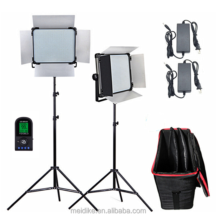 dison studio photography light kit led travel light with 5500k 9700lm, led light for video shooting