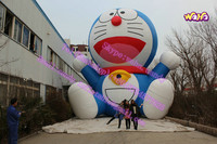 13 m high giant inflatable blue cat model for advertising/promotion C-249