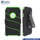 Hot Sale Belt Clip Function Robot Case Hard Mobile Phone Shell for iPhone X