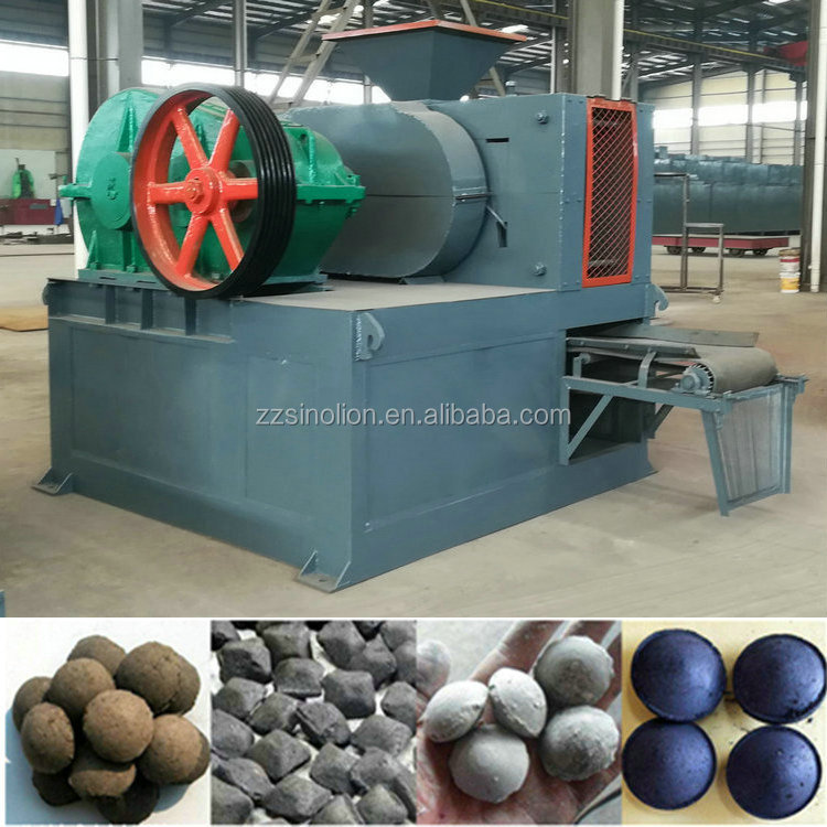 Charcoal coal dust fines hydraulic briquetting machine factory price to make ball briquettes for Australia