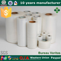 Plastic Wrapping Roll Pallet Different Thickness PE Stretch Film