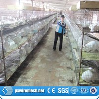 Industrial rabbit cages for sale (professional manufacturer)
