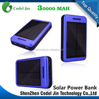 New Mobile Power Bank 30000mAh powerbank portable charger external Battery 30000 mAh mobile phone charger