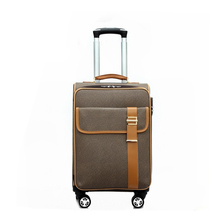 YG1302-1 Faux Leather Vantage Traveling Luggage Bag with laptop bag travel trolley luggage bags interlayer