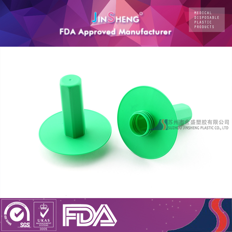 Factory price green pp material light handle cover