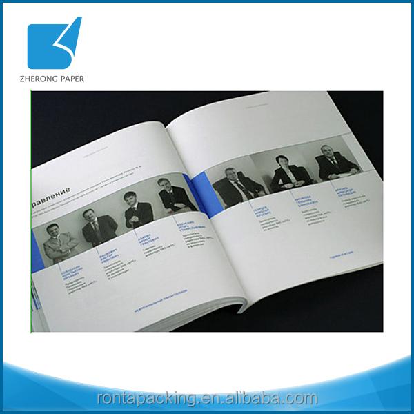 Digital Printing Art Paper Full Color Staples Flip Book