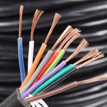 Factory Price Low Voltage 1.5Mm Pvc Electric Cable Sizes
