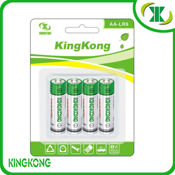 AA Alkaline ZnMnO2 Battery 5# 1.5v dry battery