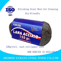 100g--400g Polishing Steel Wool Pads /big package for stone, furniture from factory