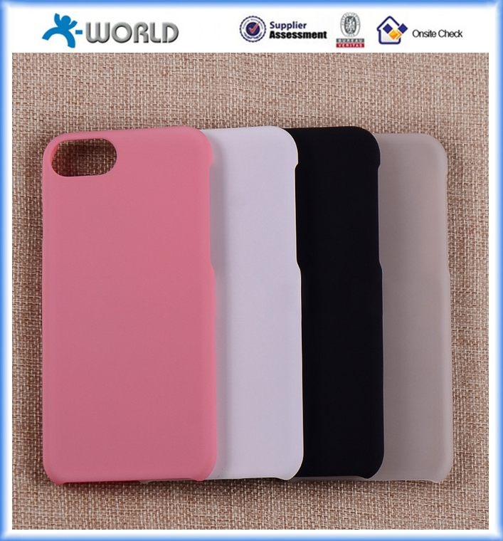 Low price china rubber cell phone case for iphone 7