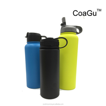 New product 2017hot sale sports style stainless steel water bottle sport water bottle keep Drink Hot/cold travel mug