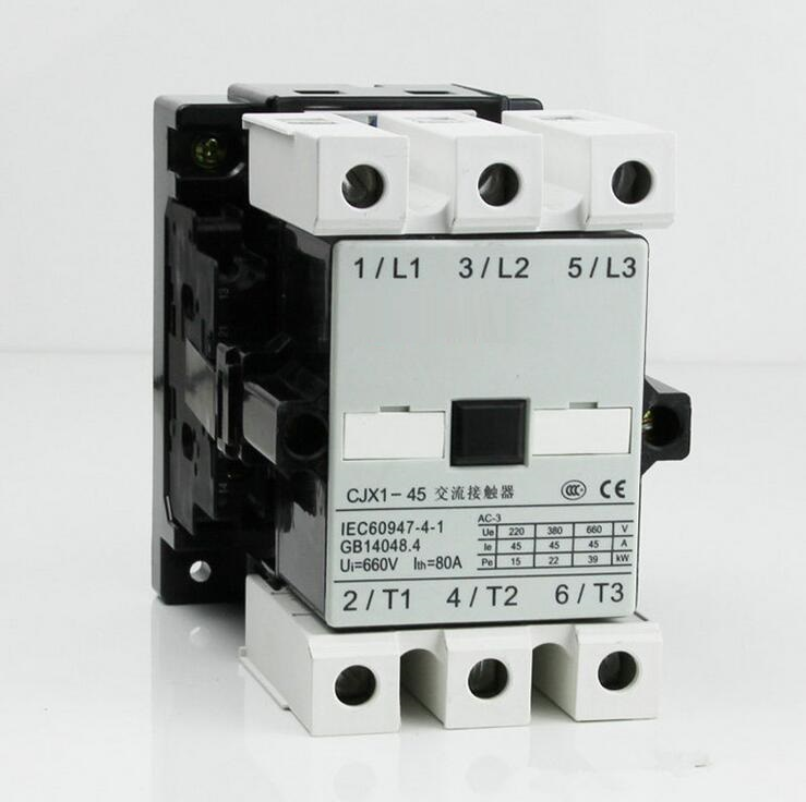 (3TF46) CJX1-45 ac magnetic contactor