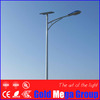 LED lamp and solar panel with solar street pole for highway street lights