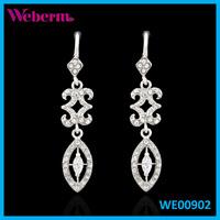 High Quality Fashion Jewellery Designs Pretty Bridal New Fashion Earrings