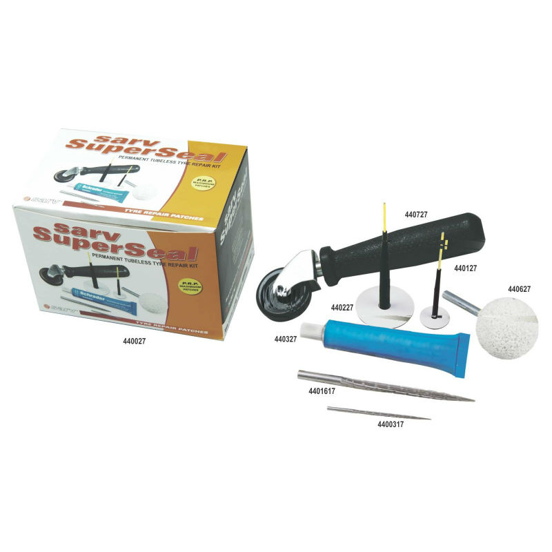 Sarv Super Seal Kit (Mushroom Type Tubeless Tyre Repair Kit)