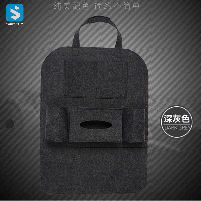 Best selling car accessories seat back storage bag