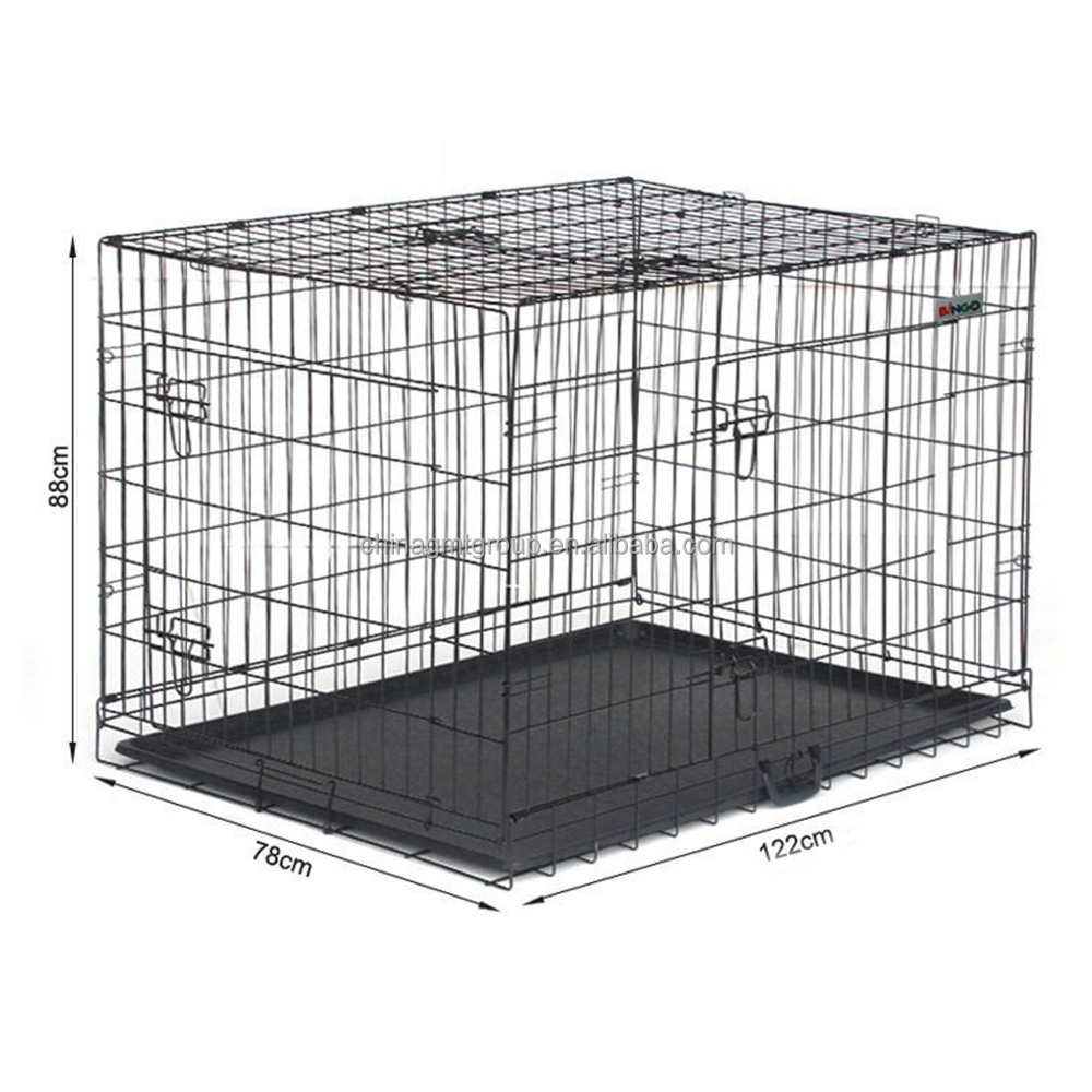 "Heavy Duty 48"" Pet Dog Cage For Sale Cheap"