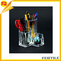 ZL 417145 acrylic pen container,acrylic brush pot, acrylic pen holder