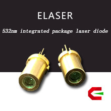 Unprecedented technology 30mW 532nm eyeable industry laser module