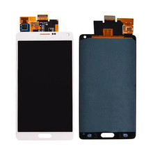 Original oem parts mobile phone lcd screen display for samsung galaxy note 4 digitizer