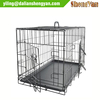 Low price precision 2 door metal dog kennel