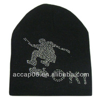 fashion custom ski knit beanie hats for men