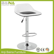 Living room italian bar stool with height adjustable