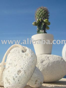 natural shape volcanic pumice stone