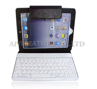 360 degree rotatable case bluetooth keyboard,notebook case with bluetooth keyboard for ipad 3