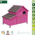 Modern wooden poultry cage for chicken with nesting box