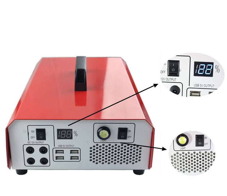 Self-developed products 500W solar generator portable with DC AC output
