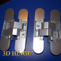 italy zinc alloy hinge, silver baking concealed Hinges 110*24*26*25.5