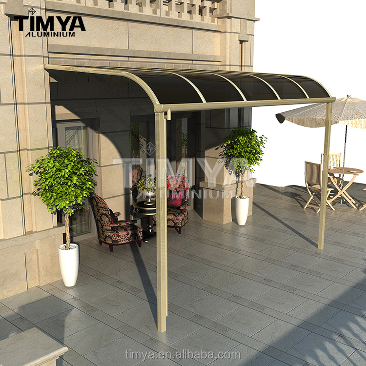 Heavy duty metal frame canopy for sunshade