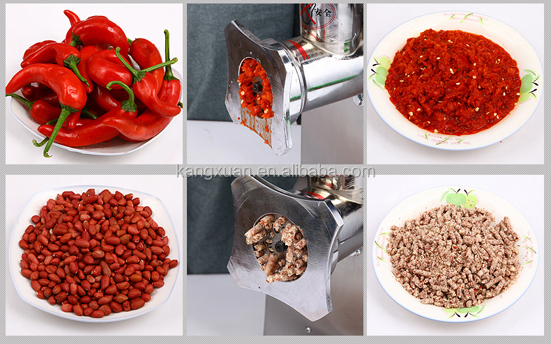 900w all stainless steel ELECTRIC MEAT GRINDER, MEAT MINCE hot sale (KX-12)