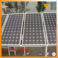 Jiangyin high quality aluminum profiles for solar frame panels