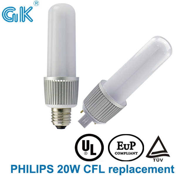 Replace 20W CFL E27 G24 8W Bulb G24 <strong>LED</strong>