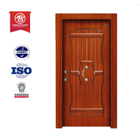 Turkish style luxury security armored wooding door design
