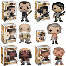 (Hot selling)Hot TV Character Series Funko POP The Walking Dead Action Figure Carol Vinyl Figure Toy Custom Made Vinyl Toy