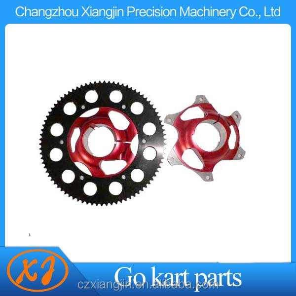 Low price aluminum motorcycle sprockets with various anodized color