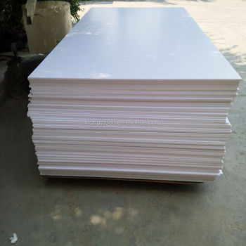 High Quality Gloosy Extrude PVC Celuka Foam Board with best price