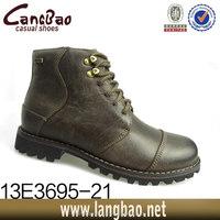 Fashion genuine mens leather composite toe work boot