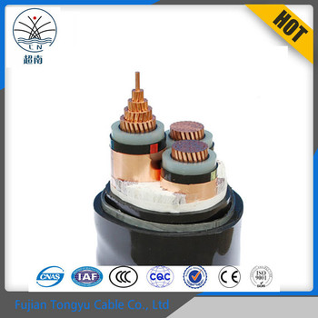 Free Samples Medium Voltage XLPE Insulated copper core underground electrical power cable 95mm2 120mm2 180mm2 240mm2 360mm2