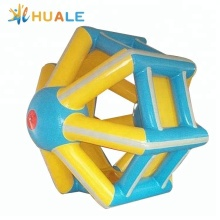 High quality PVC inflatable water floating water roller wheel