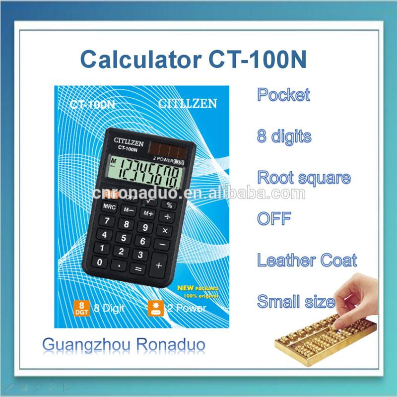 8 digits desktop promotional 8 digital pocket novelty silicon waterproof calculator
