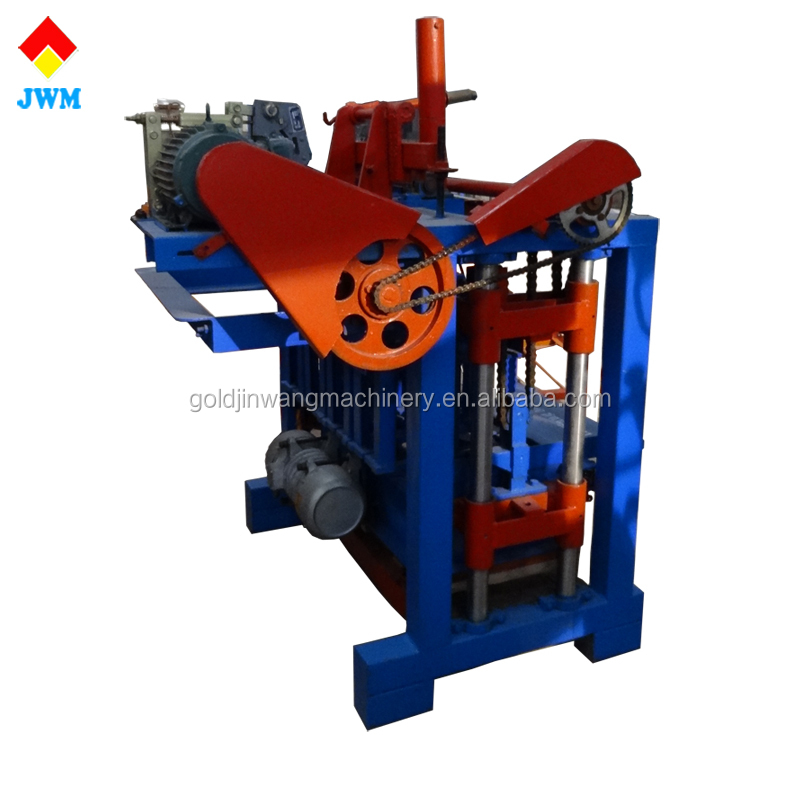 ecological brick manufacturing machine made by Chinese building suppliers