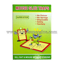 High-efficiency rat paper board mouse glue traps