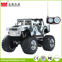 Cheap 4CH 1:43 scale 4wd off road smart kid toy rc tow rc car with lights